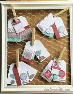 Gift tag ctmh