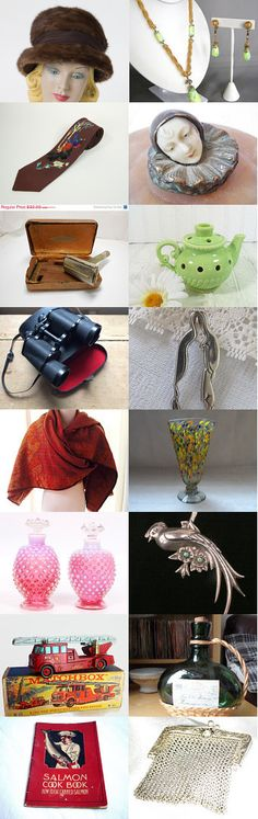 Vintage Stocking Stuffers For Everyone! by Arlene on Etsy--Pinned with TreasuryPin.com