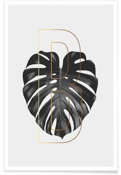 Plants B als Premium Poster von typealive Graphic Design Print, Graphic Design Typography, Graphic Design Illustration, Graphic Art, Design Art, Interior Design, Corporate Design, Branding Design, Art Prints Online