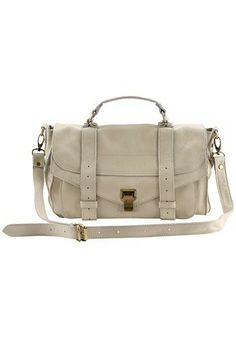 The Most Coveted Bag For Years Leather Cream