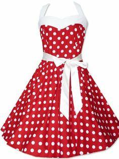 Zarlena Robe style Rockabilly (année 50) Rouge à pois blancs - Rouge - Rouge - 36/38: Amazon.fr: Vêtements et accessoires