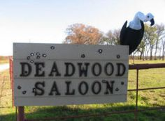 MURDER AT THE DEADWOOD SALOON#