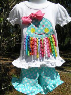 Adorable Jellyfish Short Set.