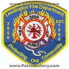 Leadington Fire Department 3900 Dept Dept FD Rescue EMS Public Patch Missouri MO