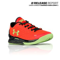The most innovative Under Armour basketball shoe, the Curry 1 Low, just dropped in another color.