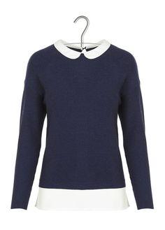 E-shop Pull Col Claudine Bleu Naf Naf pour femme sur Place des tendances Groupe Printemps. Retrouvez toute la collection Naf Naf pour femme.