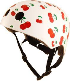 Cherry helmet.