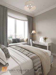 Фото дизайн спальни из проекта «Спальни»
