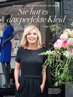 Sie hat es, das perfekte Kleid! Wann ziehe ich was an? tina Woman Magazin -  NR.04 2016