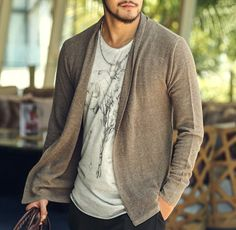 Men's Casual Stylish Knitwear #Cardigan