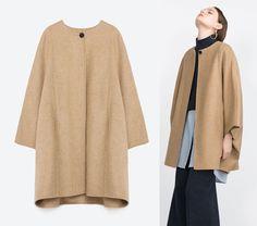 Zara Caramel Hand Made Wool Cape - Beautiful Wardrobe