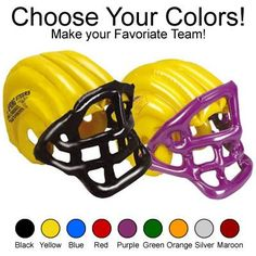 Advertise at football games, school and sporting events. Inflatable Football Helmet | Inflatable Balls | School Spirit Ideas