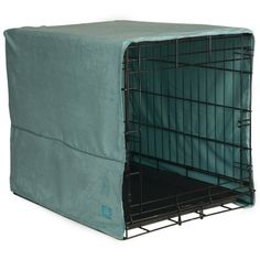 Pet Dreams 30 by 20-Inch Plush Crate Cover, Medium, Sea Foam Blue - http://www.thepuppy.org/pet-dreams-30-by-20-inch-plush-crate-cover-medium-sea-foam-blue/