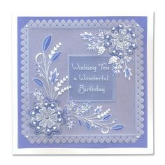 Picot Flowers One Day Special Embroidery Cards, Silk Ribbon Embroidery, Clarity Card, Vellum Crafts, Parchment Design, Parchment Cards, Butterfly Template, Card Patterns, Pop Up Cards