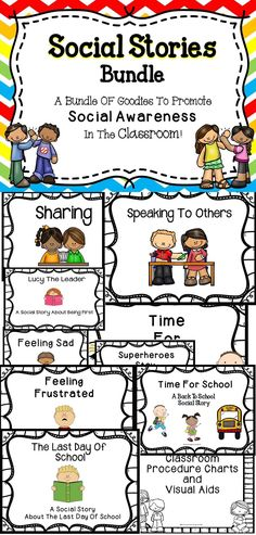 Social Stories and Charts - A great resource to use with your students.  Just download and print this no-prep student friendly resource.