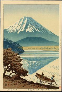 1949 - Asano Takeji - Lake Shojin