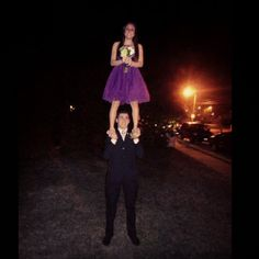 prom partner stunt ❤ #cheerleader #cheerleading #cheer
