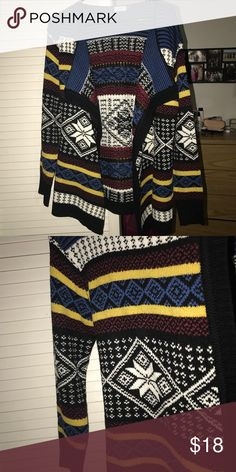 Tobi Drapey Open Knit Cardigan Open front knit drapery cardigan. Size S/M. never worn really really cute! Tobi Sweaters Cardigans