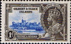 Gilbert and Ellice Islands 1935 King George V Silver Jubilee SG 36 Fine Mint SG 36 Scott 32 Other British Commonwealth Empire and Colonial stamps Here Sri Lanka, Straits Settlements, Crown Colony, Buy Stamps, Postage Stamp Art, King George, East Africa, Commonwealth, Stamp Collecting