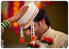 Seeking blessings for a happily married future…