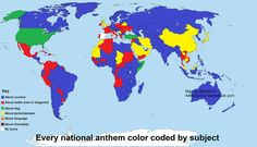 National anthems by subject.