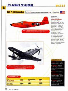Bell P-63 Kingcobra Avions de combat - Atlas http://maquettes-avions.hautetfort.com/archive/2011/06/18/avions-de-combat-atlas.html