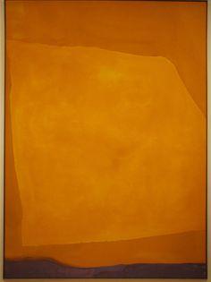 Helen Frankenthaler. Interesting to consider what moves us when we consider all the art we love.