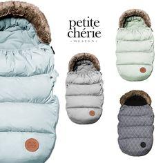 Underbara åkpåsar från Petite Chérie <3 #jollyroom #åkpåse #petitecherie
