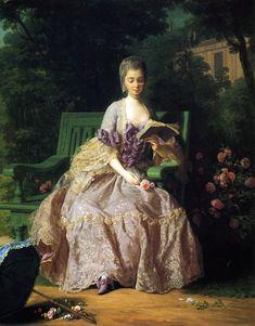Princess de Lamballe, a close friend of Marie Antoinette
