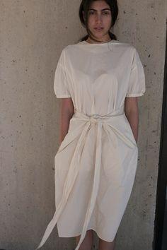 Cosmic Wonder Wrap Dress Natural