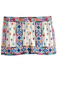 Tabarja Embellished Cotton Short   | Calypso St. Barth
