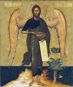 St John the Baptist 'Angel of the Desert' 1 | Art in Faith