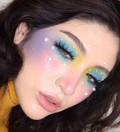 Makeup Is Life, Crazy Makeup, Cute Makeup, Glam Makeup, Makeup Inspo, Makeup Art, Makeup Inspiration, Beauty Makeup, Creative Makeup Looks