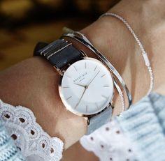 4f2c5223af Elegant Rosefield ladies watch with grey strap. • Elegantní dámské hodinky  Rosefield.  rosefield