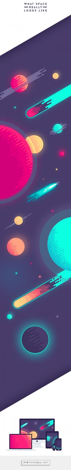 What Space Really Looks Like on Behance - created via https://pinthemall.net