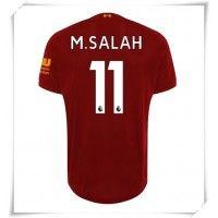 Camisa de Futebol Liverpool Mohamed Salah #11 Equipamento Principal 2019-20 Manga Curta Mohamed Salah, Premier League, Virgil Van Dijk, Uefa Champions League, Psg, Football Shirts, Shorts, Real Madrid, Arsenal