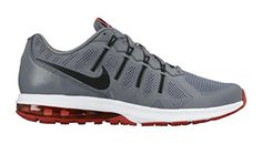 Men's Nike Air Max Dynasty Running Shoe Cool Grey/Crimson/White/Black Size 8.5 M US<div><div>Power through your daily run in 360 degrees of comfort with Nike Air Max Dynasty Men's Running Shoe. The plush upper combines with a large Max Air heel unit and soft, responsive foam for the ultimate ride.</div><ul><li>Heel Max Air unit delivers excellent impact protection.</li><li>Flywire cables integrate with the laces for adaptive support.</li><li>Soft midsole delivers lightweight, responsive…