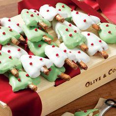 Olive and Cocoa - Chocolate Caramel Pretzel Trees