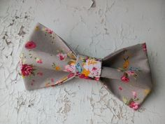 Check out this item in my Etsy shop https://www.etsy.com/listing/456151378/cottage-wedding-bow-tie-brown-shabby