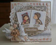 Handmade Card Magnolia