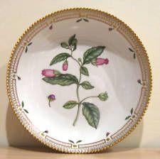 """Royal Copenhagen Flora Danica 10 """"салатная сервировочная миска"""