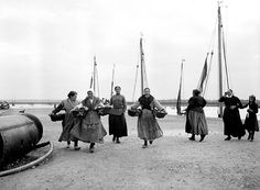 Group of Women on the Shore, France | Flickr - Photo Sharing!