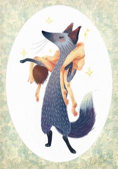 Ilustración von Olivia Salinas