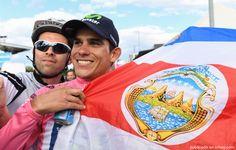 Amador volvió a subir a su bicicleta en el Giro della Toscana
