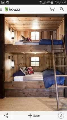 Great bunk beds!