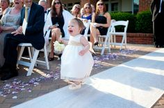 oh my gosh- could this flower girl be cuter???!??!?!