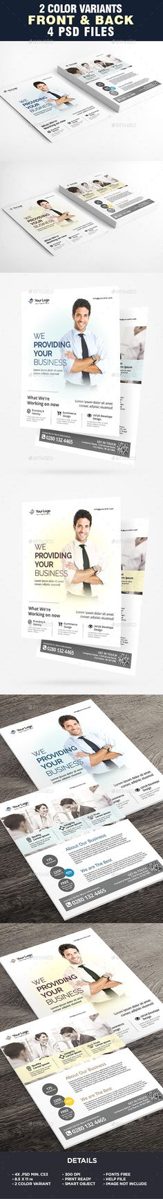 Buy Corporate Business Flyer Template by on GraphicRiver. Corporate Business Flyer Template All elements beside the image are fully editable CMYK – print ready Letter: Corporate Flyer, Corporate Business, Business Flyers, Business Flyer Templates, Label Templates, Creative Flyers, Creative Design, Creative Photoshop, Creative Inspiration