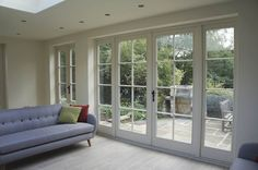 Conventional - traditional French doors - New Front Doors & Entrance doors - Timber Windows Double French Doors, French Windows, French Doors Patio, Farmhouse Patio Doors, Timber Windows, Timber Door, Windows And Doors, French Doors With Sidelights, Patio Windows