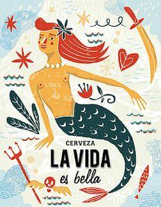 Mermaid Man, Mermaid Fairy, Tarot, Mermaid Illustration, Underwater Creatures, Mermaid Tattoos, Yoga Art, Merfolk, Weird Creatures