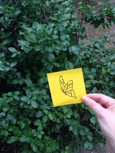 The butterfly #postitdoodle #postit #doodle #butterfly #yellow #drawing #color #daily #everyday #follow #followme